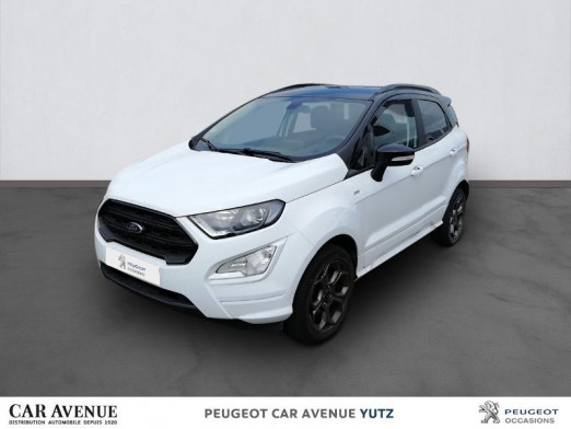 Occasion FORD EcoSport 1.0 EcoBoost 125ch ST-Line 2019 blanche 17 450 € à Yutz