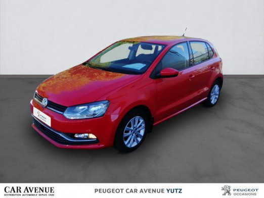 Occasion VOLKSWAGEN Polo 1.2 TSI 90ch BlueMotion Technology Confortline Business 5p 2017 rouge 12 950 € à Yutz