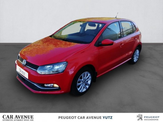 Occasion VOLKSWAGEN Polo 1.2 TSI 90ch BlueMotion Technology Confortline Business 5p 2017 rouge 12 850 € à Yutz
