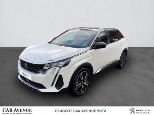 Occasion PEUGEOT 3008 HYBRID4 300ch GT e-EAT8 2021 Blanc Nacré (S) 52940 € à Yutz