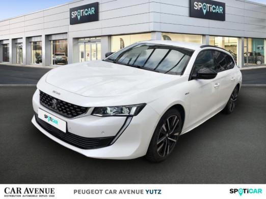 Occasion PEUGEOT 508 SW HYBRID 225ch GT e-EAT8 2020 Blanc Nacré 42990 € à Yutz