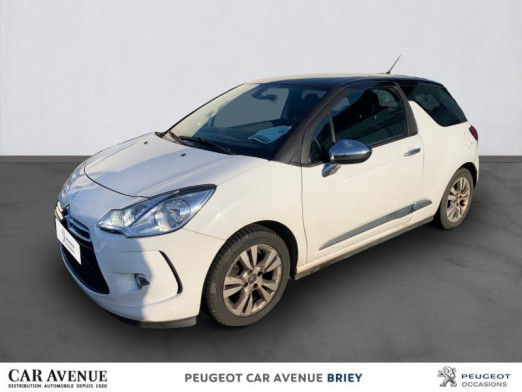 Occasion DS DS3 1.6 e-HDi90 (92) Airdream So Chic 5cv 2011 Blanc 8490 € à Briey