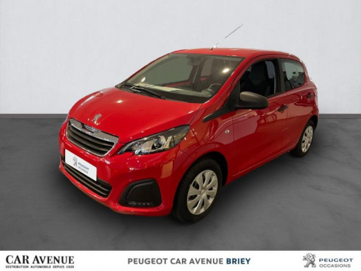 Occasion PEUGEOT 108 VTi 72 Like S&S 85g 5p 2019 Rouge Scarlet 10 990 € à Briey