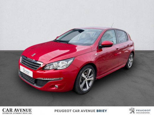 Occasion PEUGEOT 308 1.6 BlueHDi 120ch Style S&S 5p 2017 Rouge Ultimate 12 990 € à Briey
