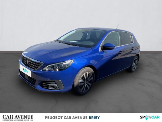 Used PEUGEOT 308 1.2 PureTech 130ch €6.c S&S Allure 2018 Bleu Magnetic € 15,990 in Briey
