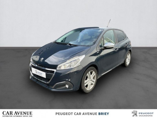 Used PEUGEOT 208 1.6 BlueHDi 75ch Style 5p 2018 Gris Hurricane € 11,990 in Briey
