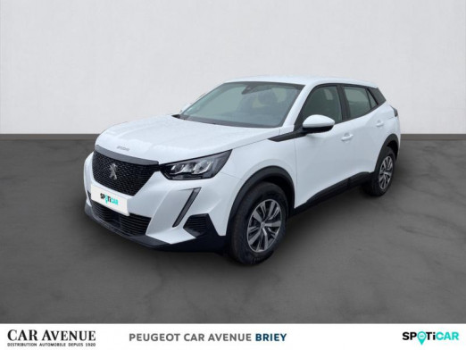 Used PEUGEOT 2008 1.2 PureTech 100ch S&S Active 2021 Blanc banquise (O) € 20,990 in Briey
