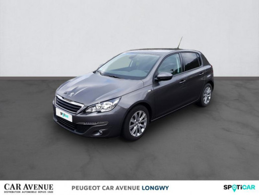 Used PEUGEOT 308 1.2 Puretech 110ch Style S&S 5p 2016 Gris Platinium € 14,490 in Longwy