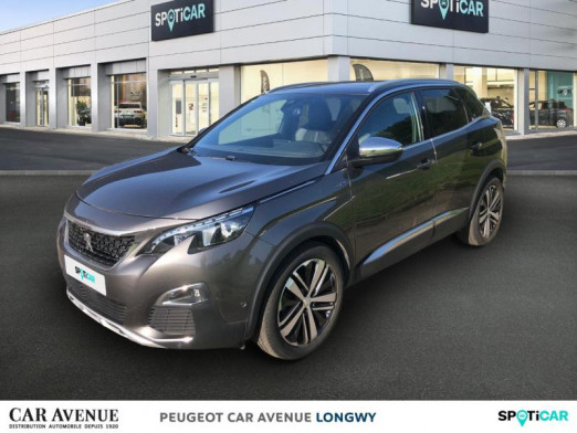 Used PEUGEOT 3008 2.0 BlueHDi 180ch GT S&S EAT6 2017 Gris Platinium (M) € 23,990 in Longwy