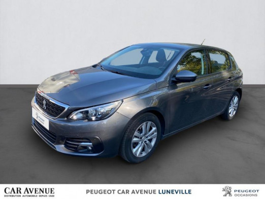 Occasion PEUGEOT 308 1.5 BlueHDi 100ch E6.c S&S Active Business 2019 Gris Platinium 17 675 € à Nancy / Laxou