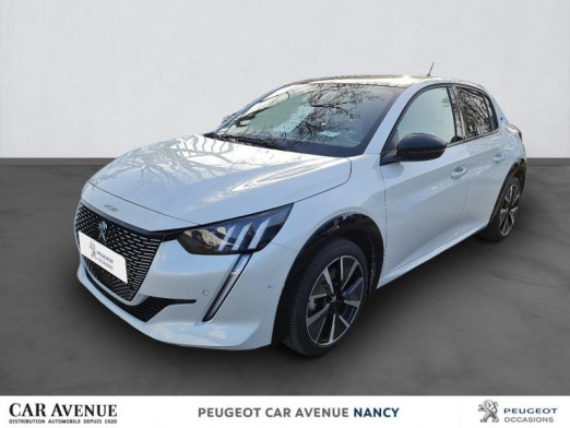 Used PEUGEOT 208 e-208 136ch GT Pack 2021 Blanc nacré € 36,338 in Nancy / Laxou
