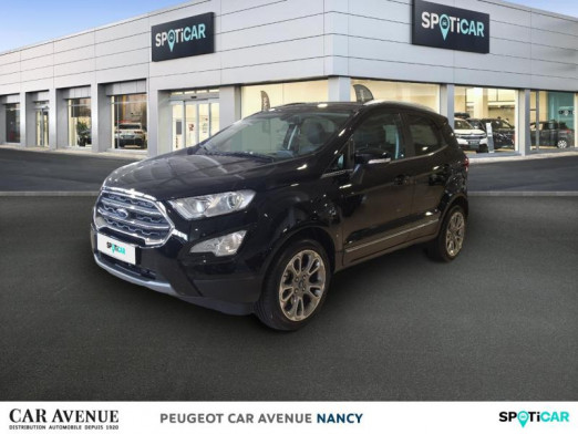 Used FORD EcoSport 1.0 EcoBoost 125ch Titanium 2019 Mica Noir Shadow € 16,206 in Nancy / Laxou