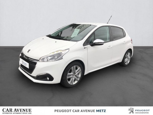 Occasion PEUGEOT 208 1.6 BlueHDi 75ch Style 5p 2017 Blanc Banquise 11 490 € à Metz Borny