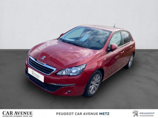 Occasion PEUGEOT 308 1.6 BlueHDi 120ch Style S&S EAT6 5p 2017 Rouge Ultimate 15 290 € à Metz Borny