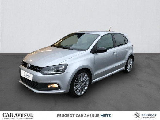 Occasion VOLKSWAGEN Polo 1.4 TSI 150ch ACT BlueMotion Technology BlueGT 5p 2015 Reflet d'Argent 12990 € à Metz Nord