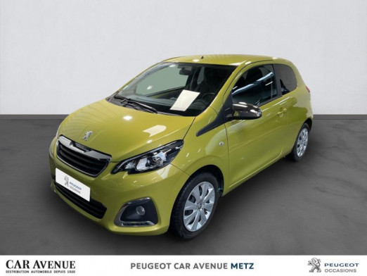 Occasion PEUGEOT 108 VTi 72 Style 3p 2018 Green Fizz 9 990 € à Metz Nord