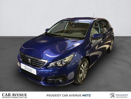 Occasion PEUGEOT 308 1.2 PureTech 110ch S&S Allure 6cv 2020 Bleu Magnetic 19990 € à Metz Borny