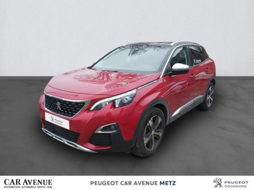 Occasion PEUGEOT 3008 1.5 BlueHDi 130ch E6.c Crossway S&S EAT8 2020 Rouge Ultimate (S) 30465 € à Metz Nord