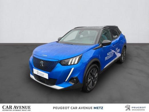 Used PEUGEOT 2008 e-2008 136ch GT 2020 Bleu Vertigo (S) € 34,047 in Metz Nord