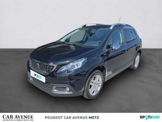 Used PEUGEOT 2008 1.2 PureTech 82ch Style 2018 Noir Perla Nera € 12,490 in Metz Borny