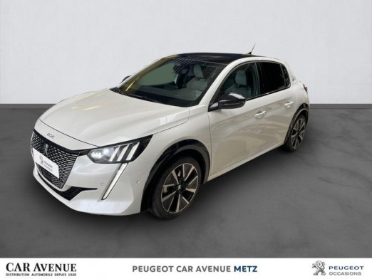 Used PEUGEOT 208 e-208 136ch GT 2020 Blanc nacré € 27,990 in Metz Nord