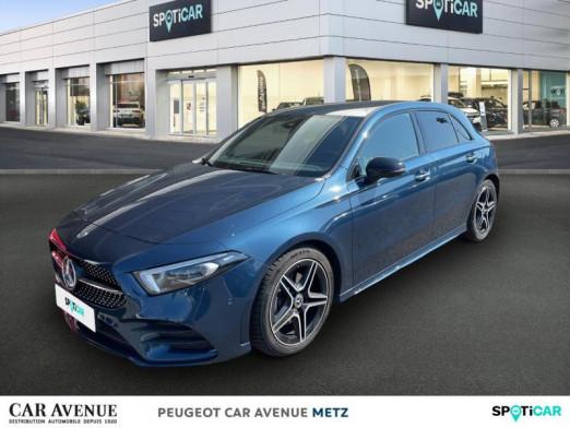 Used MERCEDES-BENZ Classe A 180 d 116ch AMG Line 7G-DCT 2019 Bleu denim € 28,990 in Metz Borny