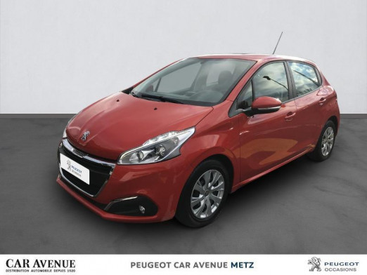 Used PEUGEOT 208 1.5 BlueHDi 100ch E6.c Active BVM5 5p 2019 Orange Power € 10,990 in Metz Nord