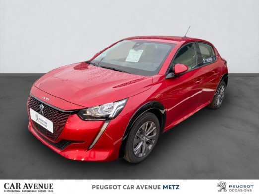 Used PEUGEOT 208 e-208 136ch Allure 2020 Rouge Elixir € 27,874 in Metz Nord