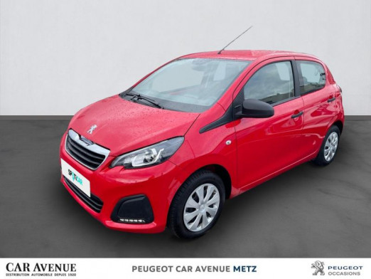 Used PEUGEOT 108 VTi 72 Access 5p 2019 Rouge Scarlet € 8,990 in Metz Borny