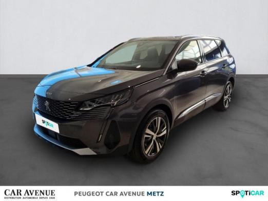 Occasion PEUGEOT 5008 1.2 PureTech 130ch S&S Allure Pack EAT8 2021 Gris Platinium (M) 36236 € à Metz Nord