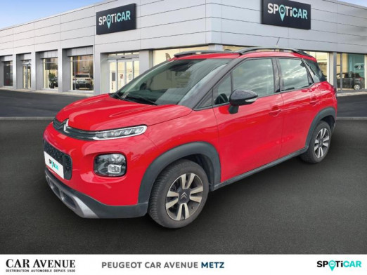 Occasion CITROEN C3 Aircross BlueHDi 120ch S&S Feel 2018 Passion Red (O) - Ink Black 15490 € à Metz Nord