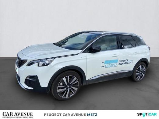 Occasion PEUGEOT 3008 HYBRID4 300ch GT e-EAT8 2020 Blanc Nacré (S) 39983 € à Metz Nord