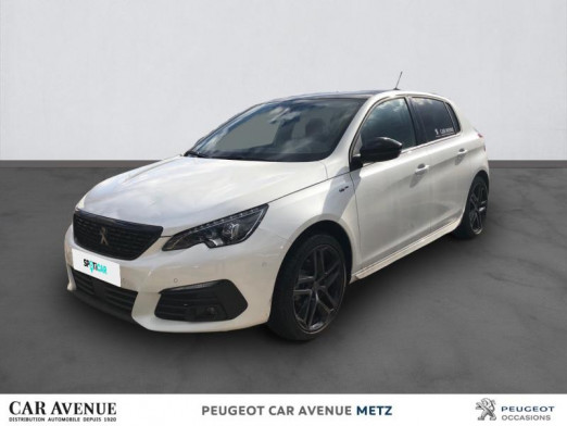 Occasion PEUGEOT 308 1.5 BlueHDi 130ch S&S GT Pack EAT8 2020 Blanc Nacré 32138 € à Metz Nord