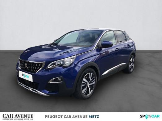 Occasion PEUGEOT 3008 1.5 BlueHDi 130ch E6.c Allure S&S EAT8 2019 Bleu Magnetic (M) 28226 € à Metz Nord