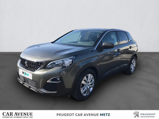 Occasion PEUGEOT 3008 1.6 BlueHDi 120ch Active Business S&S Basse Consommation 2018 Gris Amazonite (M) 18990 € à Metz Nord