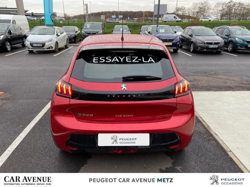 Used PEUGEOT 208 e-208 136ch Allure 2020 Rouge Elixir € 25291 in Metz Nord