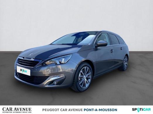 Used PEUGEOT 308 SW 1.6 BlueHDi 100ch Allure S&S 2017 Gris Platinium € 14,066 in Pont à Mousson