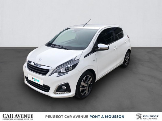 Used PEUGEOT 108 VTi 72 Collection S&S 4cv 5p 2021 Blanc Lipizan € 14,467 in Pont à Mousson