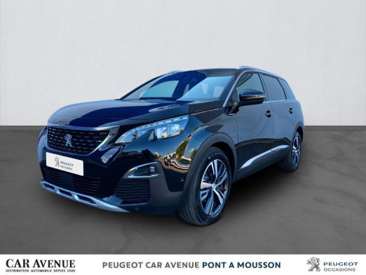 Occasion PEUGEOT 5008 2.0 BlueHDi 180ch S&S GT EAT8 2020 Noir Perla Nera (M) 40568 € à Pont-à-Mousson