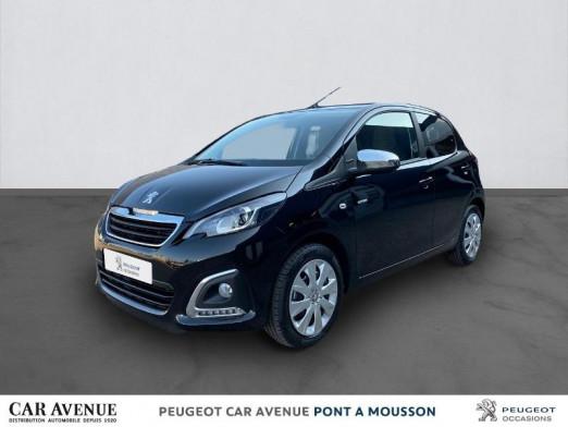 Occasion PEUGEOT 108 VTi 72 Style S&S 4cv 5p 2020 NOIR CALDERA 12679 € à Pont-à-Mousson
