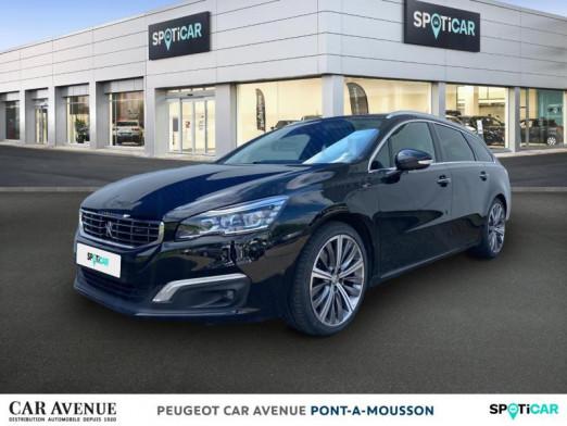 Occasion PEUGEOT 508 2.0 BlueHDi 180ch FAP GT EAT6 2018 Noir Perla Nera 17450 € à Pont-à-Mousson
