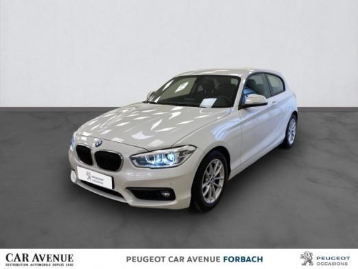 Occasion BMW Série 1 118iA 136ch Lounge 3p Euro6d-T 2018 Alpinweiss 21997 € à Longeville-lès-Saint-Avold