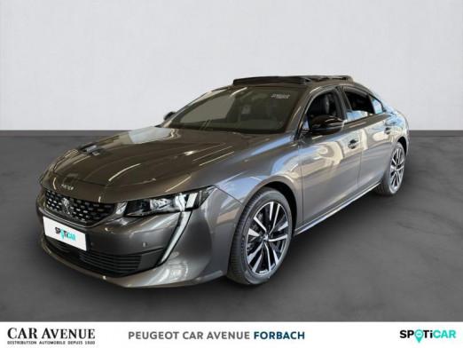Used PEUGEOT 508 BlueHDi 130ch S&S GT EAT8 2021 Gris Platinium € 38,420 in Longeville-lès-Saint-Avold
