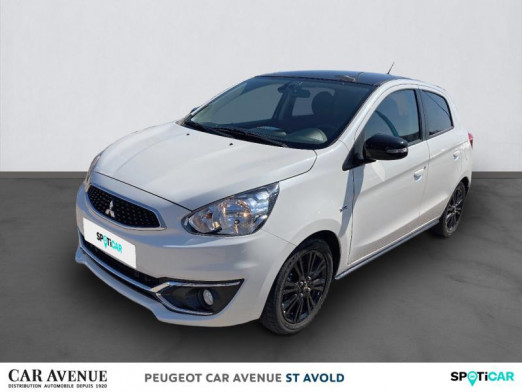 Used MITSUBISHI Space Star 1.2 MIVEC 80ch AS&G BLACK Collection CVT 2019.5 2019 Pearl White € 10,497 in Longeville-lès-Saint-Avold