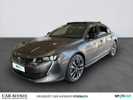 Occasion PEUGEOT 508 BlueHDi 130ch S&S GT EAT8 2021 Gris Platinium 38420 € à Longeville-lès-Saint-Avold