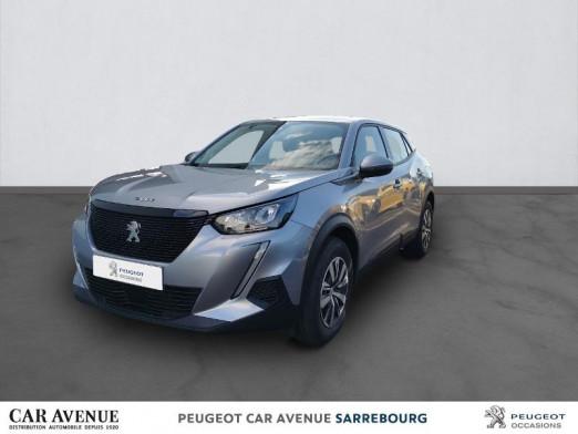 Occasion PEUGEOT 2008 1.5 BlueHDi 100ch S&S Active 2020 Gris Artense (M) 22872 € à Sarrebourg
