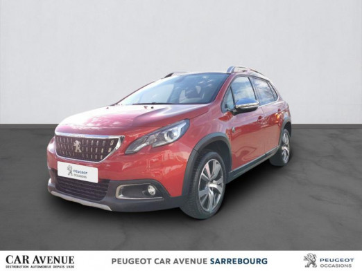 Occasion PEUGEOT 2008 1.6 BlueHDi 100ch Crossway 2017 Rouge Ultimate 14 910 € à Sarrebourg