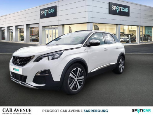 Used PEUGEOT 3008 2.0 BlueHDi 180ch S&S GT EAT8 2019 Blanc Nacré (S) € 29,807 in Sarrebourg