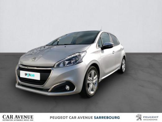 Used PEUGEOT 208 1.2 PureTech 82ch Style 5p 2018 Gris Aluminium € 11,909 in Sarrebourg