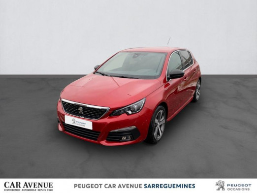 Occasion PEUGEOT 308 1.5 BlueHDi 130ch S&S GT Line EAT8 2020 Rouge Ultimate 24999 € à Sarreguemines